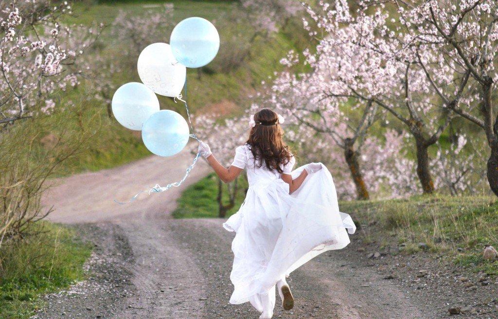 reportajes comunion con globos fuengirola