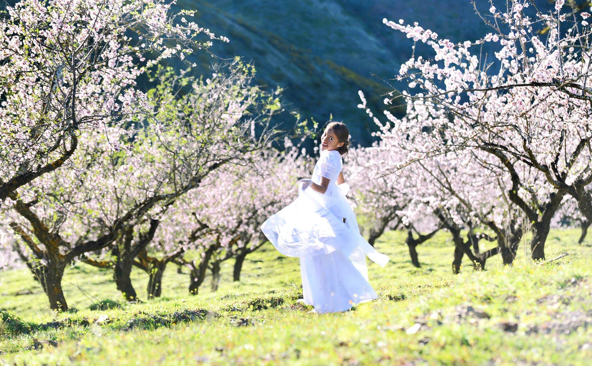 reportajes comunion flores de almendros