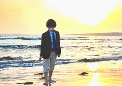 fotos comuniones en la playa